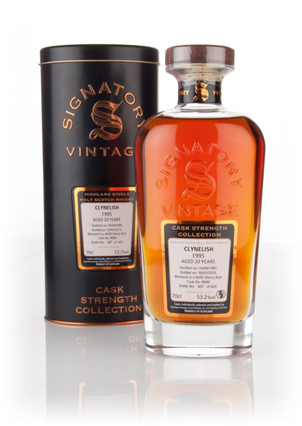 Clynelish 20 Year Old 1995 (cask 8686) - Cask Strength Collection (Sig Single Malt Whisky 3cl Sample
