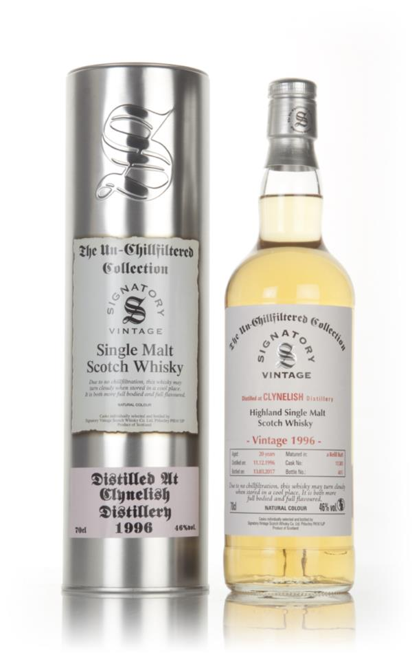 Clynelish 20 Year Old 1996 (casks 11381) - Un-Chillfiltered Collection Single Malt Whisky
