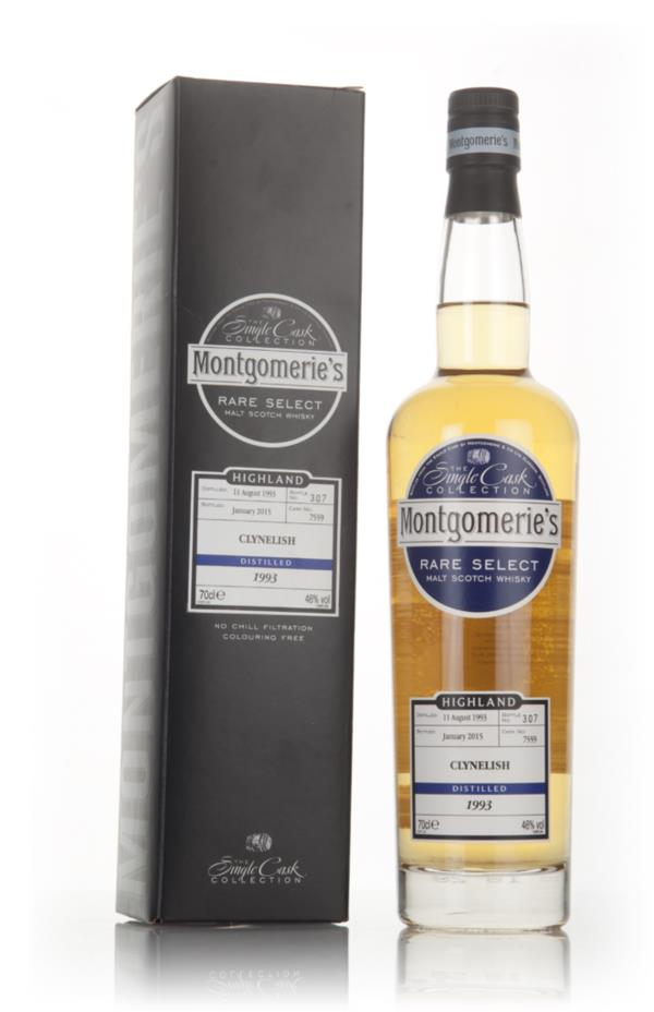 Clynelish 21 Year Old 1993 (cask 7559) -  Rare Select (Montgomerie's) Single Malt Whisky