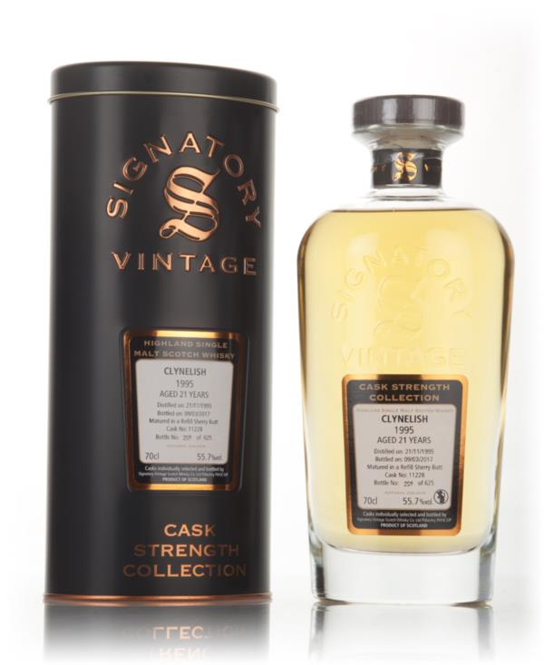 Clynelish 21 Year Old 1995 (cask 11228) - Cask Strength Collection (Si Single Malt Whisky