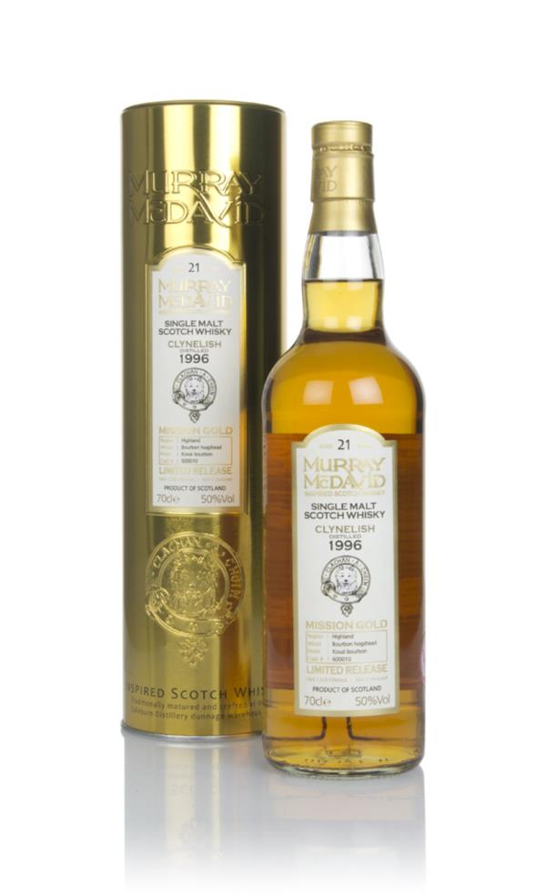 Clynelish 21 Year Old 1996 (cask 600010) - Mission Gold (Murray McDavi Single Malt Whisky
