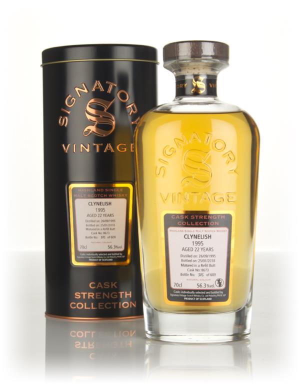 Clynelish 22 Year Old 1995 (cask 8673) - Cask Strength Collection (Sig Single Malt Whisky 3cl Sample