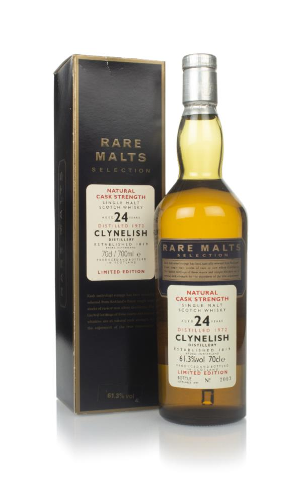 Clynelish 24 Year Old 1972 - Rare Malts Single Malt Whisky