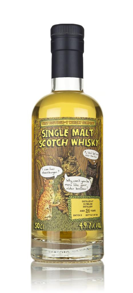 Clynelish 24 Year Old (That Boutique-y Whisky Company) 3cl Sample Single Malt Whisky