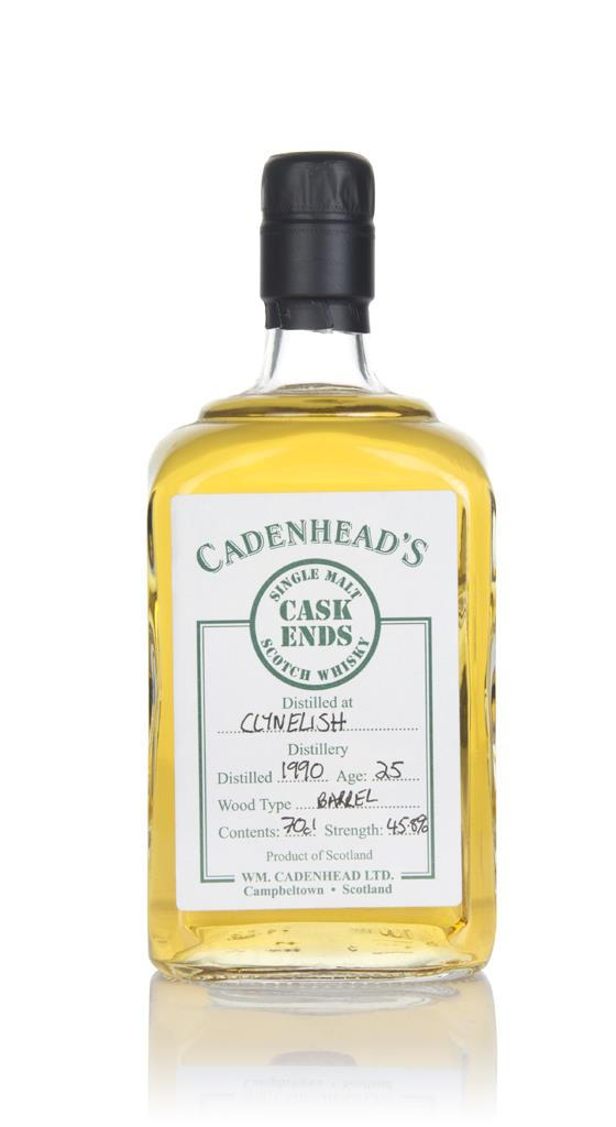 Clynelish 25 Year Old 1990 - Cask Ends (WM Cadenhead) Single Malt Whisky