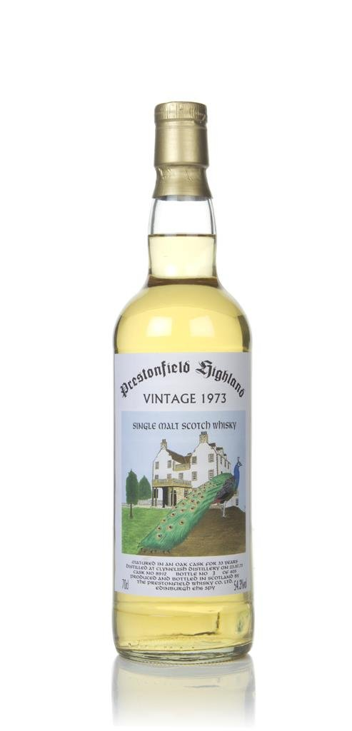 Clynelish 33 Years Old 1973 (cask 8912) - Prestonfield Highland Single Malt Whisky