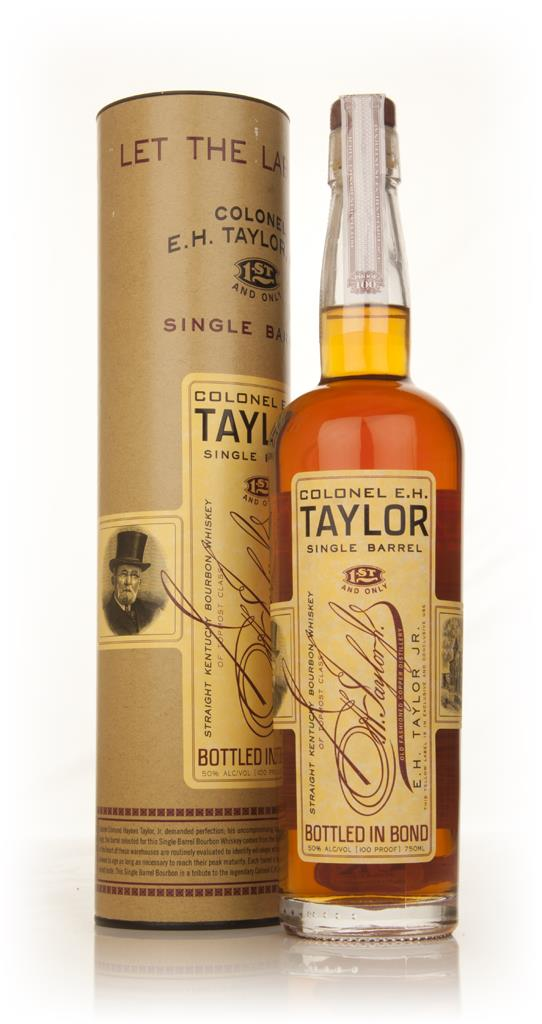 Colonel EH Taylor Single Barrel 3cl Sample Bourbon Whiskey