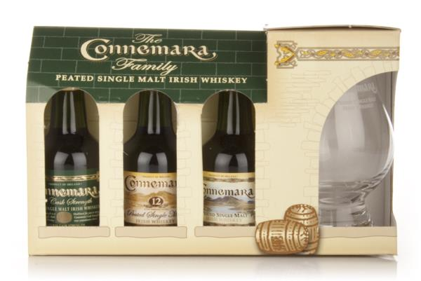 The Connemara Family Gift Pack Single Malt Whiskey