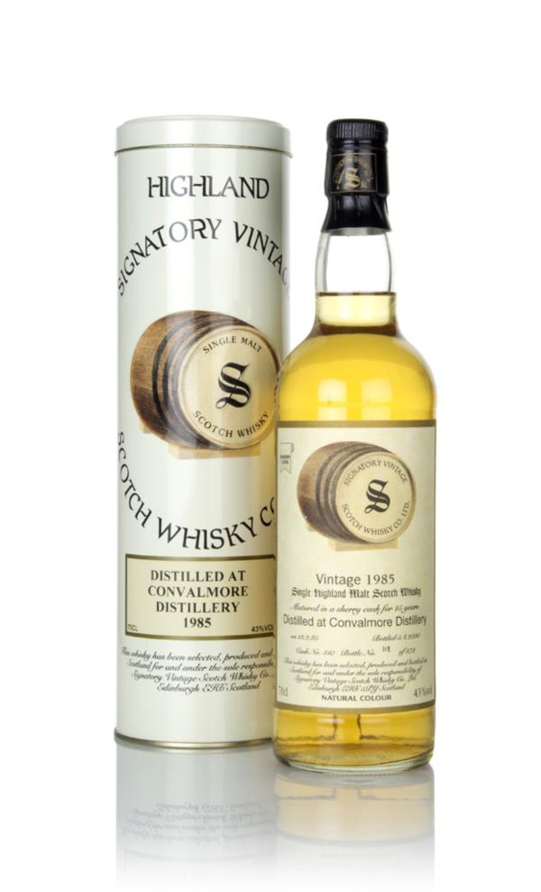 Convalmore 15 Year Old 1985 (cask 310) (Signatory) Single Malt Whisky