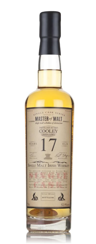 Cooley 17 Year Old 1999 - Single Cask (Master of Malt) 3cl Sample Single Malt Whiskey