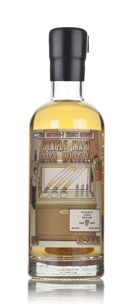 Cooley 17 Year Old (That Boutique-y Whisky Company) 3cl Sample Single Malt Whiskey