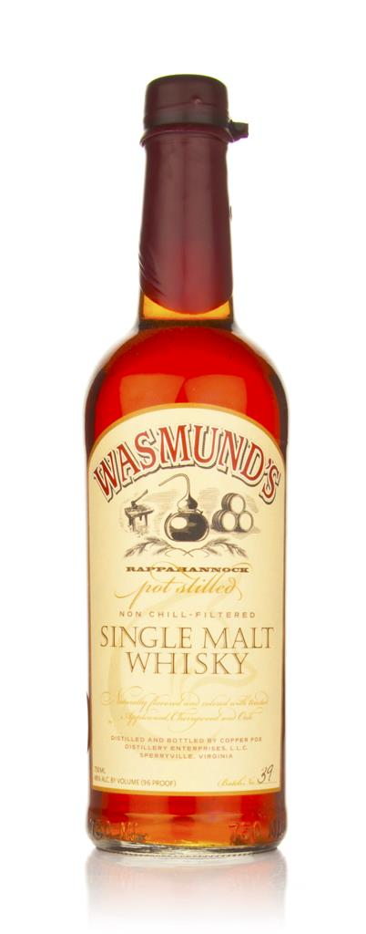 Wasmunds Single Malt Whisky 3cl Sample Single Malt Whiskey