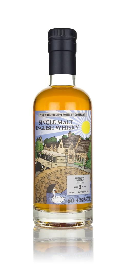 Cotswolds 3 Year Old (That Boutique-y Whisky Company) Single Malt Whisky