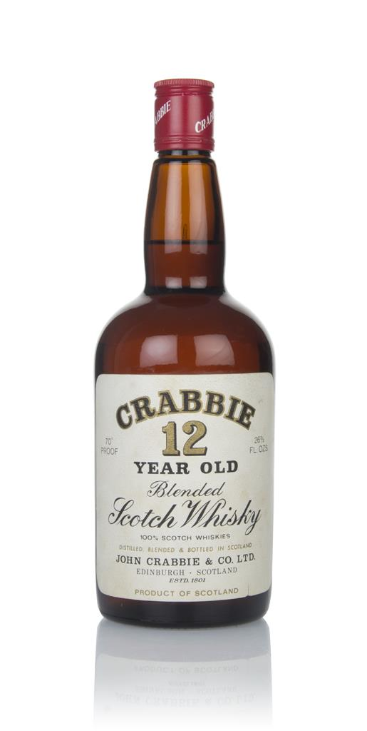 Crabbie 12 Year Old - 1970s Blended Whisky