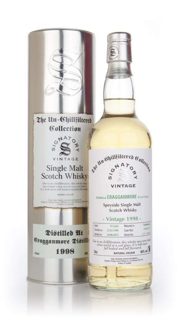 Cragganmore 14 Year Old 1998 (casks 1170+1171) - Un-Chillfiltered (Sig Single Malt Whisky