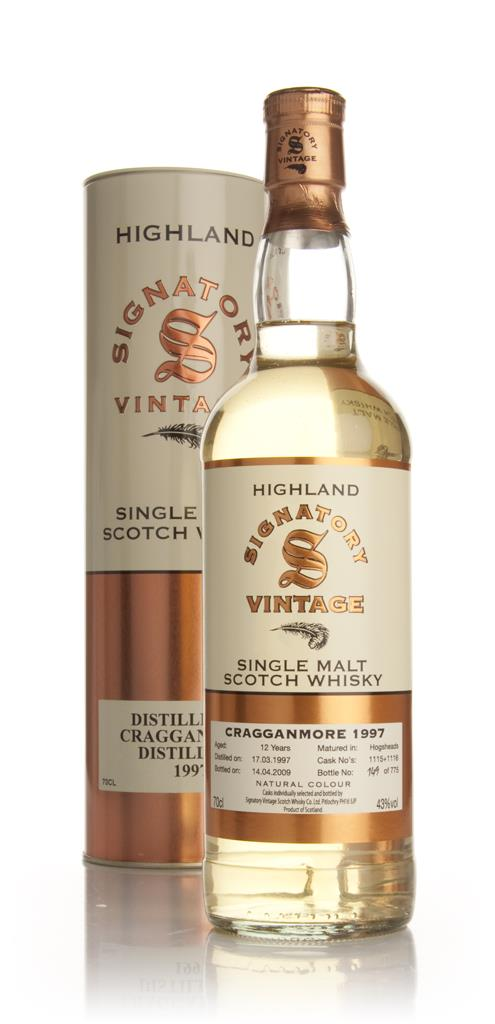 Cragganmore 12 Year Old 1997 (Signatory) Single Malt Whisky