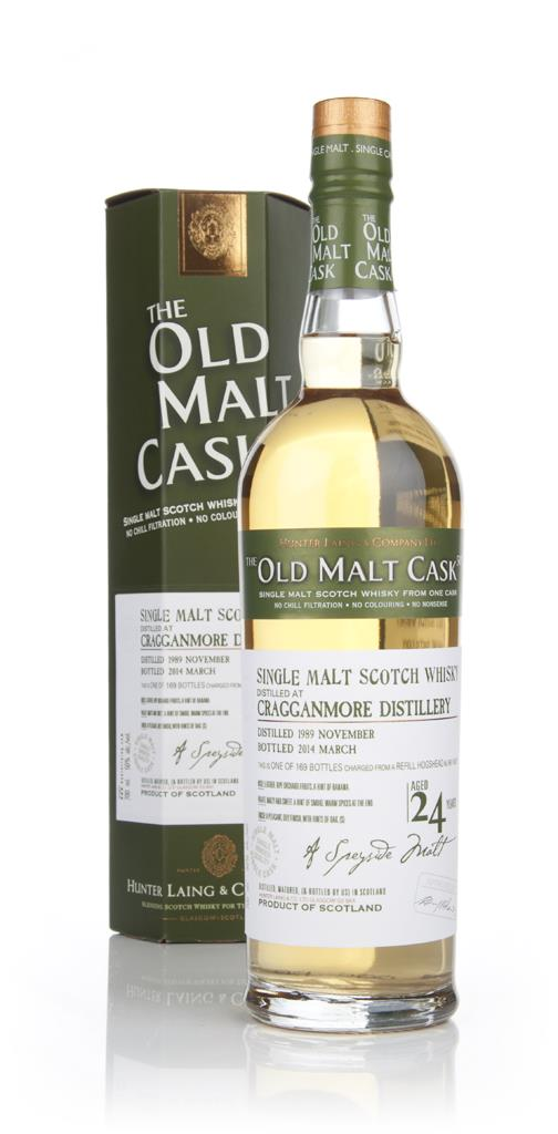Cragganmore 24 Year Old 1989 (cask 10375) - Old Malt Cask (Hunter Lain Single Malt Whisky 3cl Sample