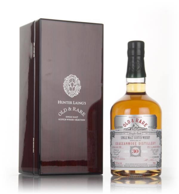 Cragganmore 30 Year Old 1986 - Old & Rare Platinum (Hunter Laing) Single Malt Whisky