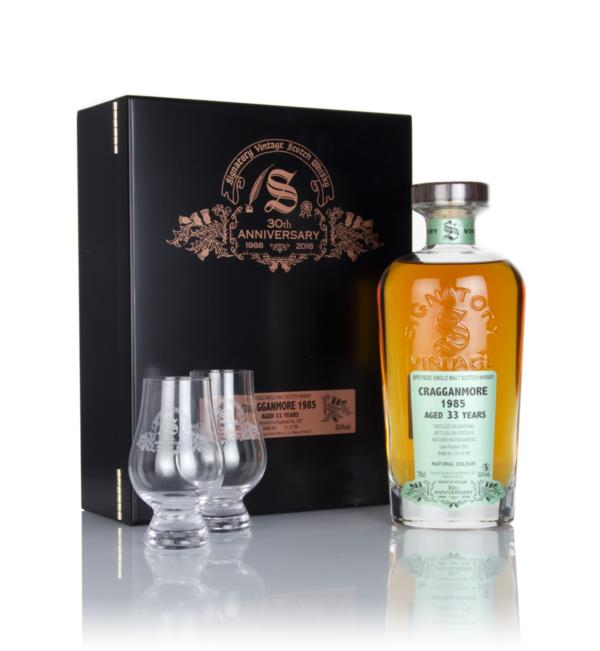 Cragganmore 33 Year Old 1985 (cask 1241) - 30th Anniversary Gift Box ( Single Malt Whisky