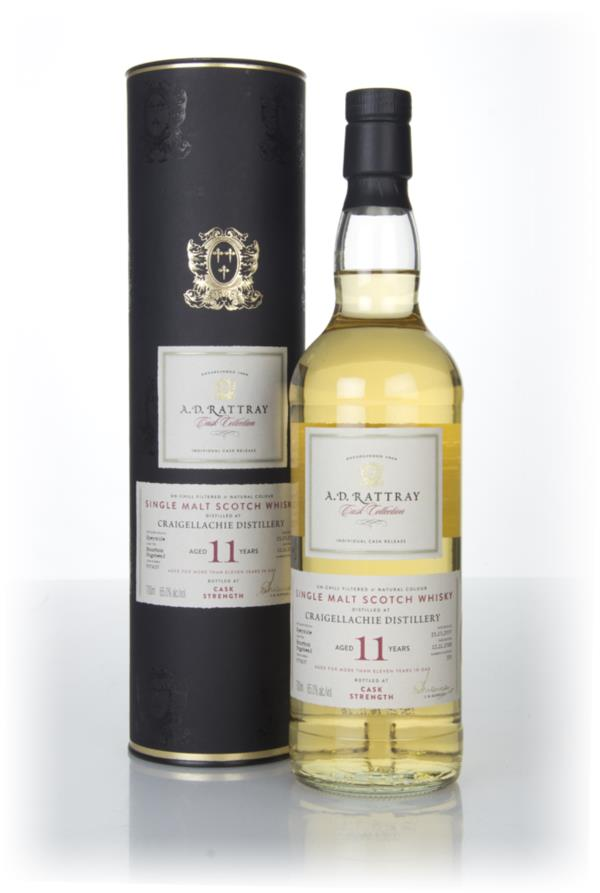 Craigellachie 11 Year Old 2007 (cask 900637) - Cask Collection (A.D. R Single Malt Whisky