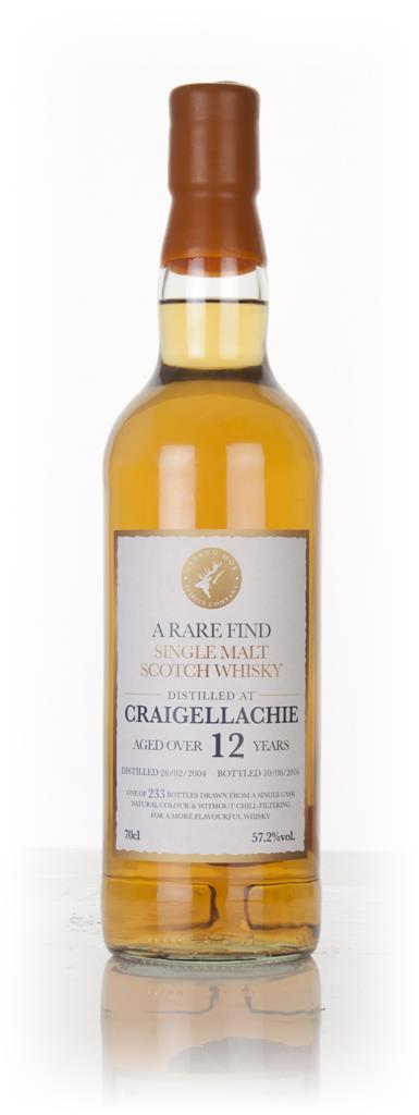 Craigellachie 12 Year Old 2004 - A Rare Find (Gleann Mor) Single Malt Whisky