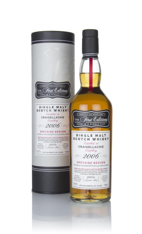 Craigellachie 12 Year Old 2006 (cask 15807) - The First Editions (Hunt Single Malt Whisky