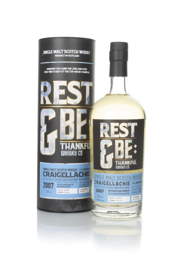 Craigellachie 12 Year Old 2007 (cask 314992) - Rest & Be Thankful Single Malt Whisky