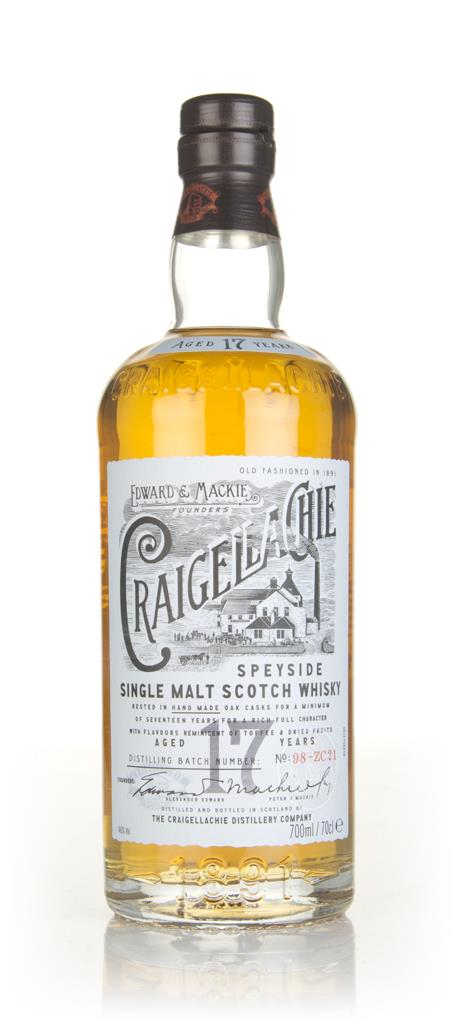 Craigellachie 17 Year Old Single Malt Whisky