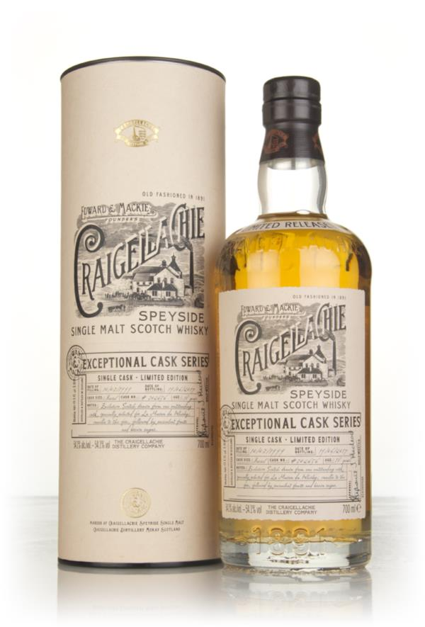 Craigellachie 18 Year Old 1999 (cask 302656) - Exceptional Cask Series Single Malt Whisky