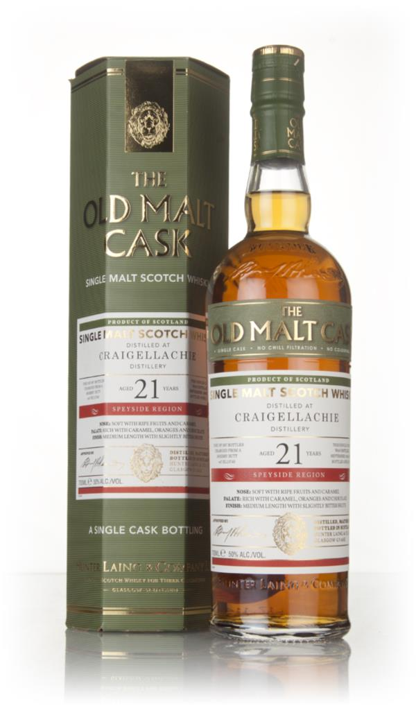 Craigellachie 21 Year Old (cask 13740) - Old Malt Cask (Hunter Laing) Single Malt Whisky