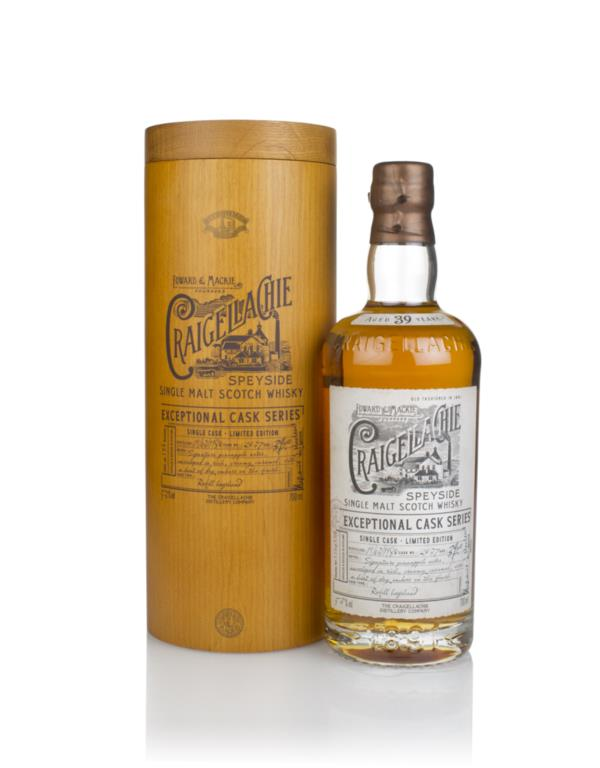 Craigellachie 39 Year Old 1980 (cask 2037) - Exceptional Cask Series Single Malt Whisky
