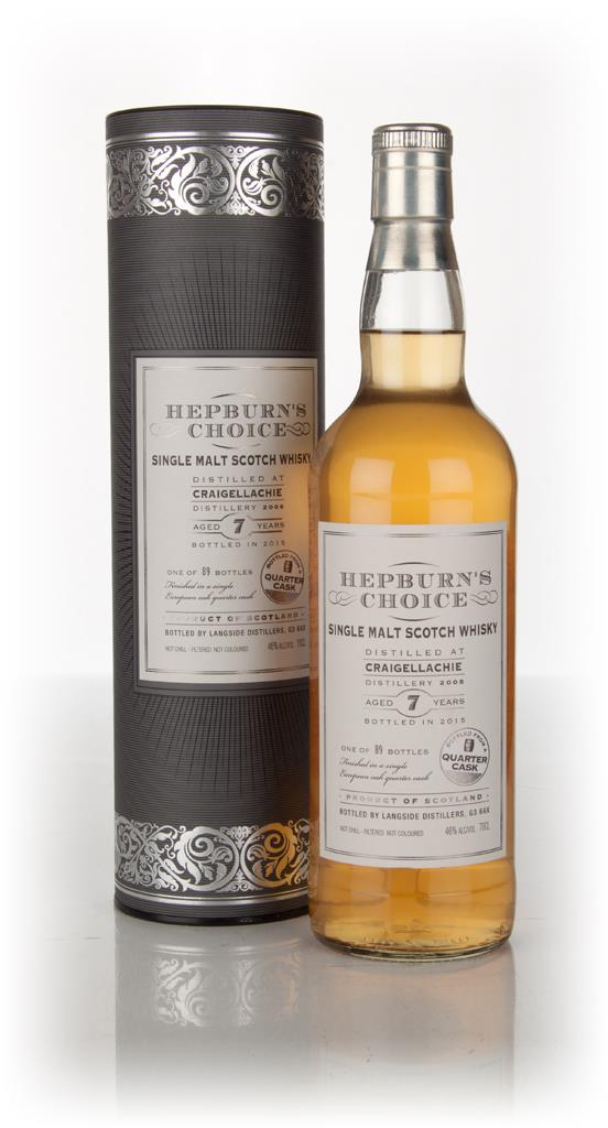 Craigellachie 7 Year Old 2008 (bottled 2015) - Hepburns Choice (Langs Single Malt Whisky