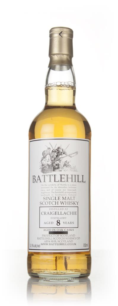 Craigellachie 8 Year Old 2008 - Battlehill (Duncan Taylor) Single Malt Whisky