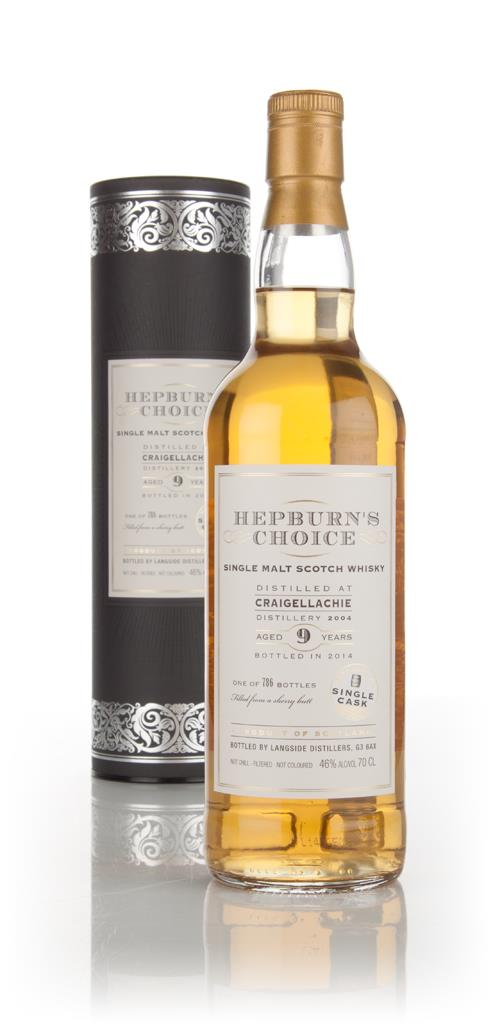 Craigellachie 9 Year Old 2004 (bottled 2014) - Hepburns Choice (Langs Single Malt Whisky