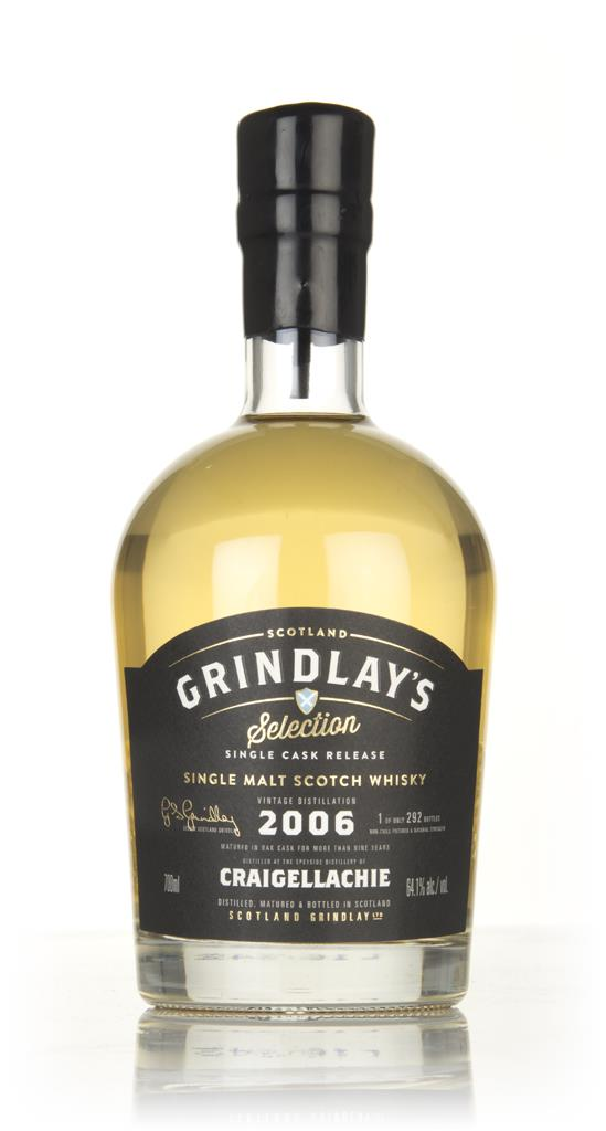Craigellachie 9 Year Old 2006 (Scotland Grindlay) Single Malt Whisky