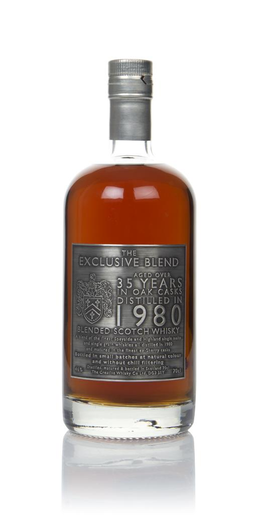 The Exclusive Blend 35 Year Old 1980 (Creative Whisky Company) Blended Whisky