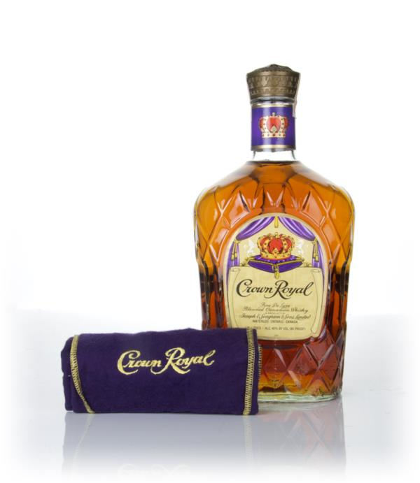 Crown Royal Canadian Whisky (1.75L) - 1979 Blended Whisky