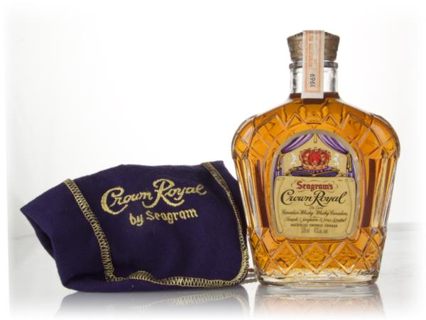 Crown Royal Canadian Whisky - 1969 Blended Whisky