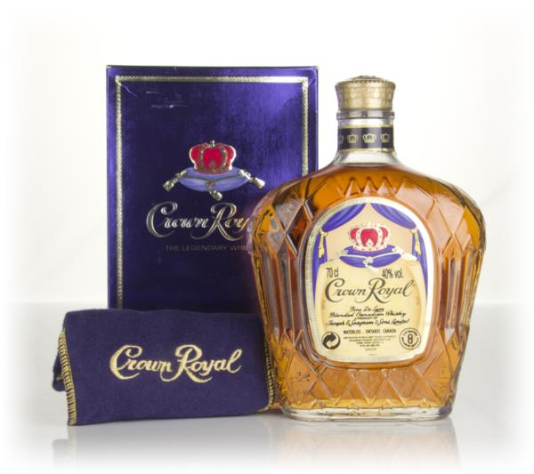 Crown Royal Canadian Whisky - post-1990 Blended Whisky