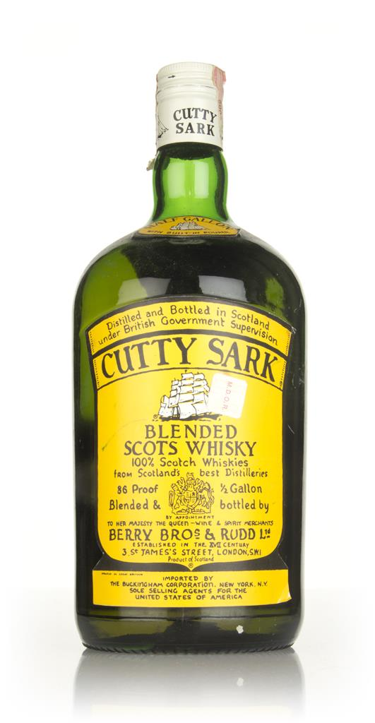 Berry Bros. & Rudd Cutty Sark (189cl) - 1970s Blended Whisky