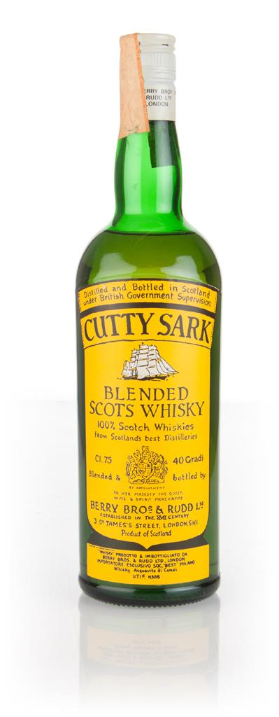 Cutty Sark - 1970s Blended Whisky