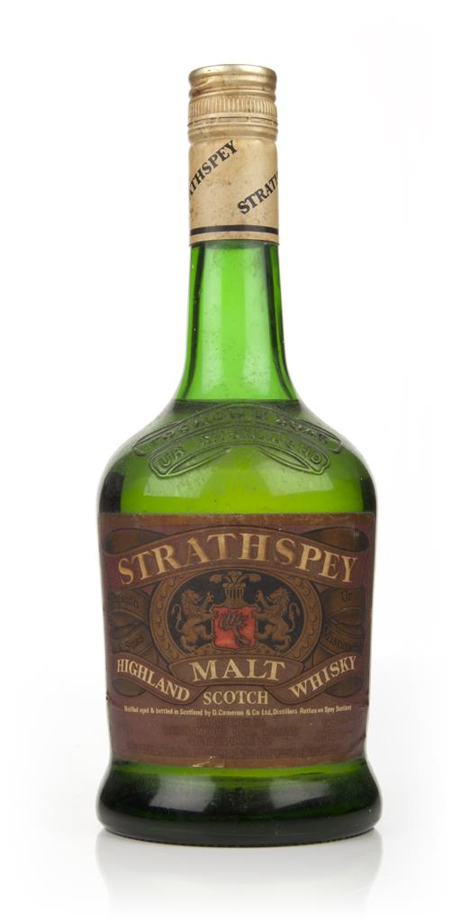 Strathspey Highland Malt Whisky - 1970s Blended Whisky