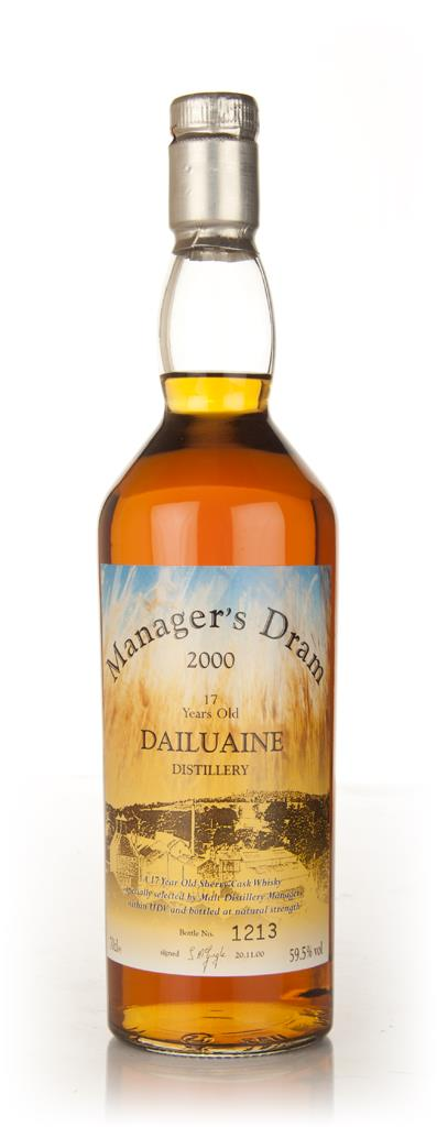 Dailuaine 17 Year Old - The Managers Dram Single Malt Whisky