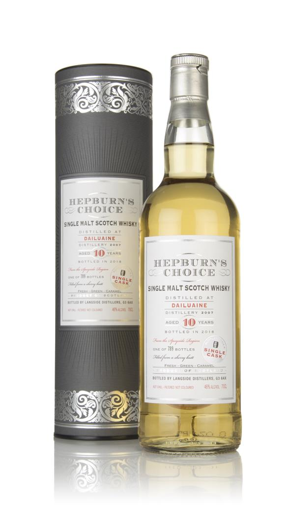 Dailuaine 10 Year Old 2007 - Hepburns Choice (Langside) Single Malt Whisky