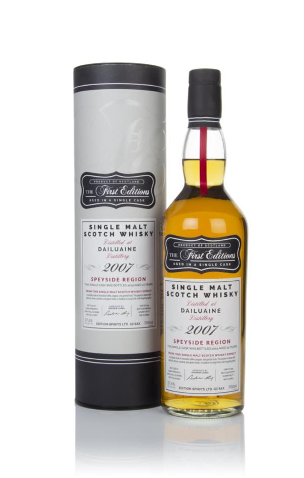 Dailuaine 12 Year Old 2007 (cask 16641) - The First Editions (Hunter L Single Malt Whisky