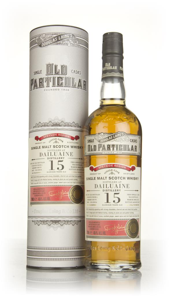 Dailuaine 15 Year Old 2002 (cask 12016) - Old Particular (Douglas Lain Single Malt Whisky