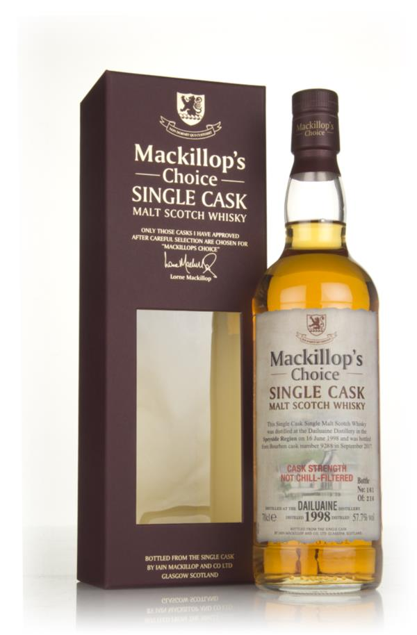 Dailuaine 19 Year Old 1998 (cask 9288) - Mackillops Choice Single Malt Whisky