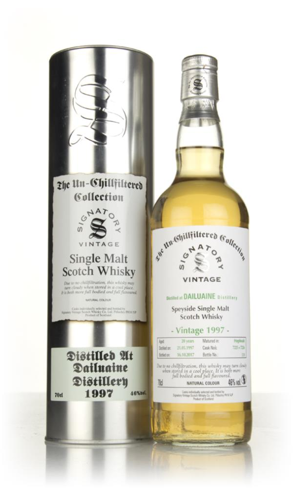 Dailuaine 20 Year Old 1997 (casks 7225 & 7226) - Un-Chillfiltered Coll Single Malt Whisky
