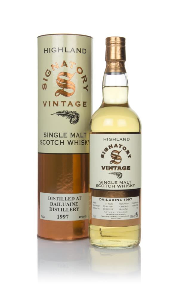 Dailuaine 21 Year Old 1997 (casks 7258 & 7262) - Signatory Single Malt Whisky