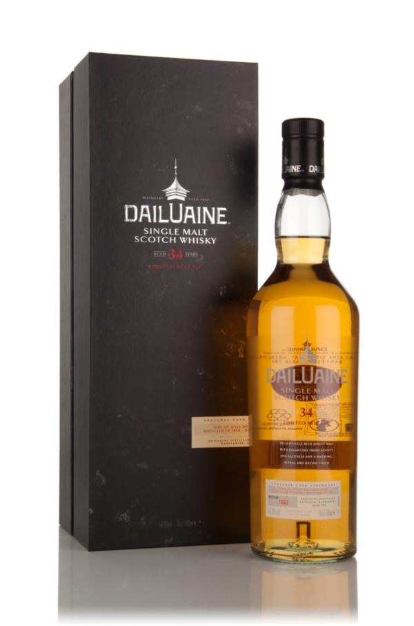 Dailuaine 34 Year Old 1980 (Special Release 2015) Single Malt Whisky